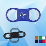 Promotional Classic Bottle Opener with Magnetic Fidget Spinner