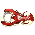 Jumbo Size Lobster Shape Magnetic Bottle Opener Custom Imprinted