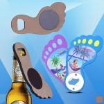Promotional Foot Shaped Magnetic Bottle Opener