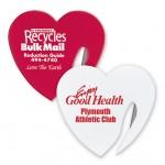 Heart Letter Opener Custom Imprinted