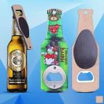 Beer Bottle Shaped Magnetic Bottle Opener Custom Imprinted