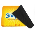 Custom Printed 4-in-1 Micro-Fiber Rectangular Mouse Pad/Cleaning Cloth