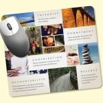 "Custom Printed Peel&Place 7.5x8.5x.015"" UltraThin, Hard Surface MousePad"
