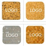 Logo Branded Nature cork mouse pad
