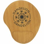 Custom Imprinted Bamboo Leatherette Mouse Pad