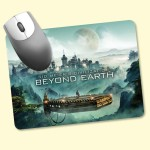 """Custom Imprinted ReTreads 6""""x8""""x3/32"""" Recycled Hard Surface Mouse Pad"""