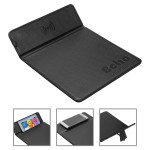Custom Printed Accord Wireless Charger Mouse Pad with Kickstand