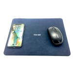 Logo Branded PU Wireless Charger Mouse Pad
