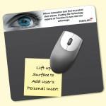 "Frame-It Lift Heavy Duty 7.5""x8""x1/8"" Lift-Top Window/Photo MousePad Custom Printed"