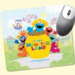 "Promotional Origin'L Fabric 7.5x8.5x1/8"" Antimicrobial MousePad"