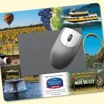 "Frame-It Flex DuraTec 8""x9.5""x1/8"" Window/Photo Mouse Pad Custom Imprinted"