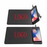 Folding wireless charging mouse pad Custom Imprinted