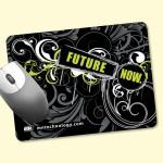 "Custom Printed Origin'L Fabric 6""x8""x1/4"" Antimicrobial Mouse Pad"