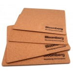 Rectangle Cork Mouse Pad Logo Branded