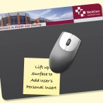 "Custom Imprinted Frame-It Lift Heavy Duty 8""x9.5""x1/16"" Lift-Top Window MousePad"