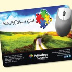 """Promotional Vynex DuraTec 7""""x9""""x1/16"""" Hard Surface Mouse Pad"""