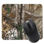 Promotional Realtree Dye Sublimated Computer Mouse Pad