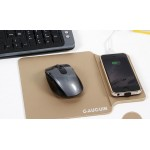 Promotional 5V PU Wireless Charger Mouse Pad