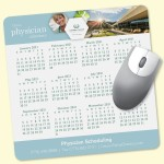 """Custom Printed Peel&Place 8"""" Square x.015"""" Ultra-Thin Mouse Pad"""