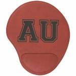 Promotional Rose Leatherette Mouse Pad