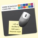 """Frame-It Lift Heavy Duty 7.5""""x8""""x1/16"""" Lift-Top Window MousePad Logo Branded"""
