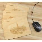 Custom Printed Wood Mouse Pad