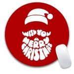 Custom Printed Christmas Mouse Pad