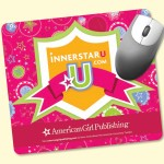 """Custom Printed Barely There 7.5x8.5x.02"""" Ultra-Thin Mouse Pad"""