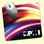 """Barely There 7.5""""x8""""x.02"""" Ultra-Thin Mouse Pad Custom Printed"""