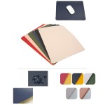 Leather Solid Color Simple Mouse Pad Custom Imprinted