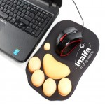 Silicone Cat Paw Mouse Pad Custom Printed