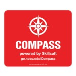 """THINS MATTE Plus Surface w/Repositionable Backing Mouse Pad (7.5""""x9""""x.02"""") Logo Branded"""