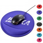 Promotional Round wrist rest mouse pad