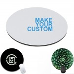 """Full Color Scuba 8"""" Round Mouse Pad Custom Printed"""