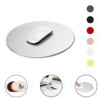 Round Aluminum Alloy Metal Mouse Pad Custom Imprinted