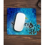 Logo Branded Pieceless Puzzle Rectangle Mouse Pad