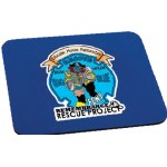 """Rectangle Mouse Pad (1/4"""" Thick) - Full Color Logo Branded"""