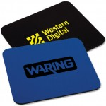 """Custom Printed 1/4"""" Thick Rectangle Mouse Pad"""