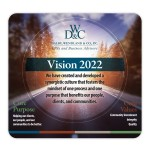 """Mouse Carpet Antimicrobial Fabric Mouse Pad (7.5""""x8""""x1/8"""") Logo Branded"""