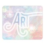"""Custom Printed THINS MATTE Plus Surface w/Repositionable Backing Mouse Pad (7.75""""x9.25""""x.02"""")"""