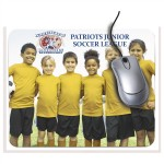 """Logo Branded 9.25""""x7.75"""" Rectangle Mouse Pad"""