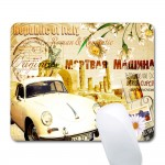 """7"""" x 8 2/3"""" x 1/12"""" Soft Surface Mouse Pad Custom Imprinted"""