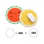Custom Round Mouse Pad Logo Branded