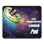 """DuraTrac Matte Plus Hard Surface Mouse Pad w/Heavy-Duty Rubber Backing (7.5""""x9""""x1/16"""") Logo Branded"""