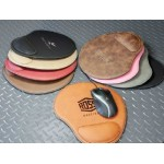 Leatherette Mouse Pad Logo Branded