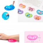 Custom Imprinted Wrist Rest Silicone Mouse Pad