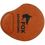 """Promotional 9x10.25"""" Rawhide Leatherette Mouse Pad"""