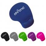 Custom Full Color Wrist Rest Mouse Pad Logo Branded