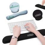 Custom Mouse Pad And Keyboard Pad Set Comfortable Typing Custom Printed