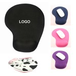 Mouse Pad with Wrist Support Logo Branded